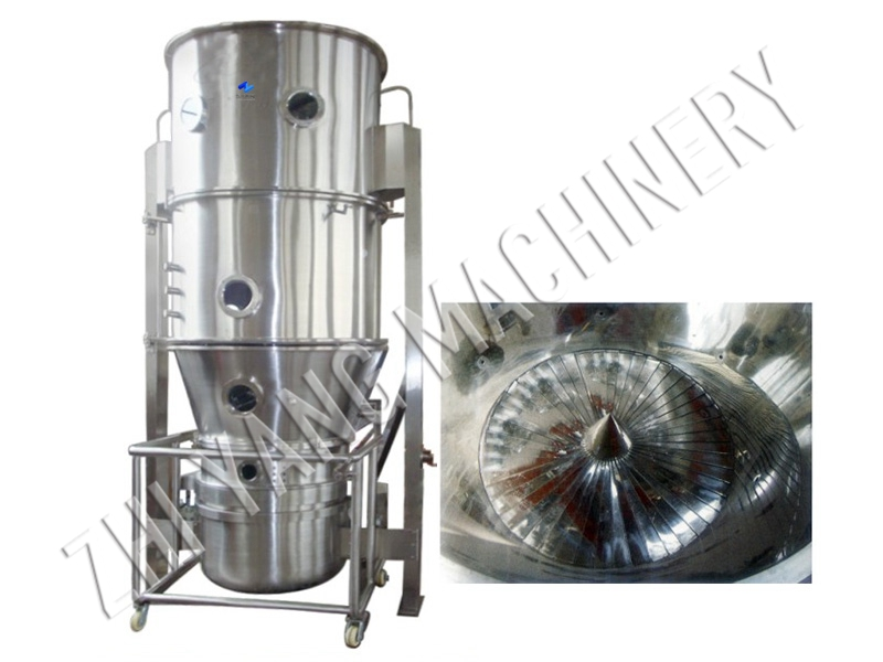 FBL Swirl Fluidized Bed Pelletizing and Coating Machine