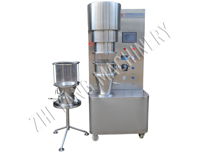 DLP Fluidized Granulation and Coating Experimental machine
